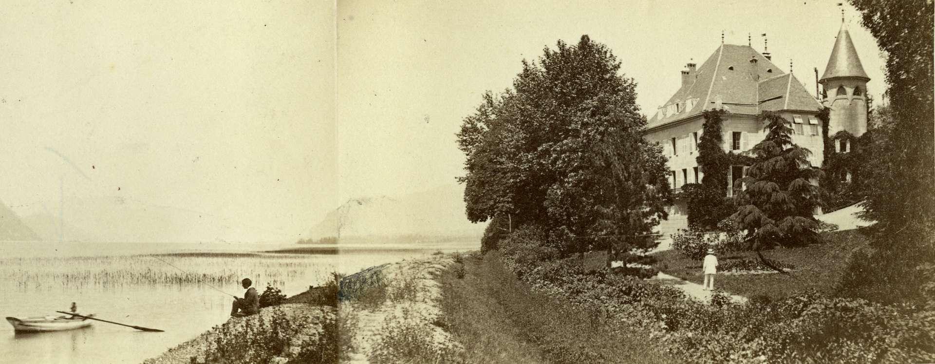 Photo ancienne du château