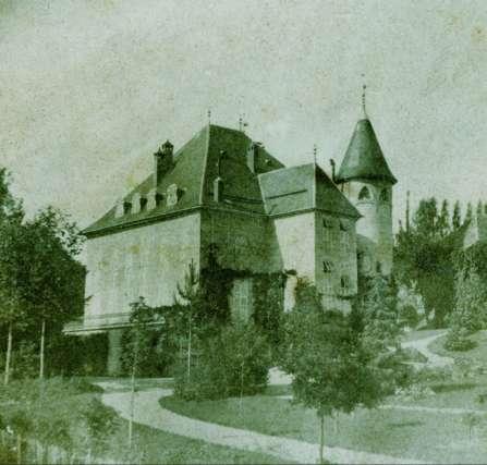 Le Château de Bonport en 1900