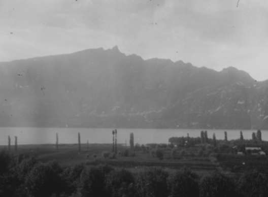 Photo ancienne du Lac du Bourget