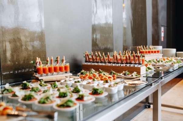 Buffet garni pour votre événement au Château